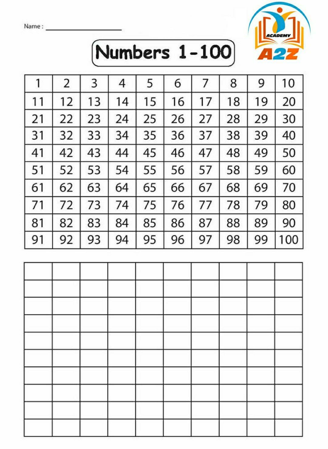Grade 1 Math Worksheet Counting 1 100 In 2020 1st Grade Math Worksheets 1st Grade Math 1st Grade Worksheets