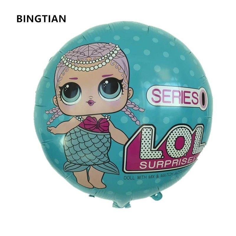 "LOL Surprise 18/"" Foil Balloon Birthday Party"