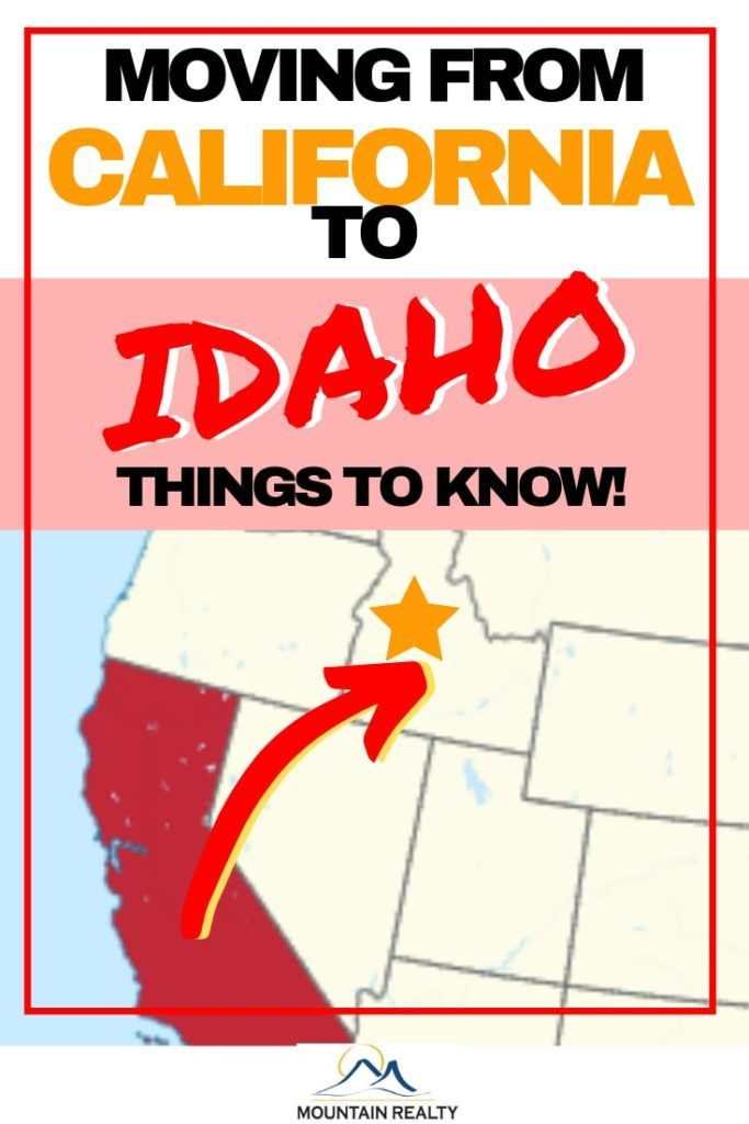 Moving to Boise, Idaho from California: 7 Critical