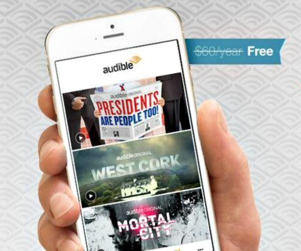 amazon prime free audio books iphone