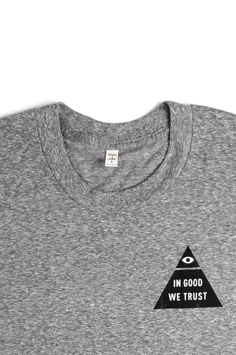 0d61f56ef8 Women's In Good We Trust Grey T-Shirt in 2019 | Style | Shirts ...