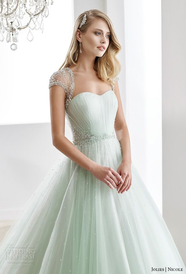 Nicole Jolies Collection 2016 Colored Wedding Dresses Wedding Inspirasi Colored Wedding Dresses A Line Bridal Gowns Wedding Dresses