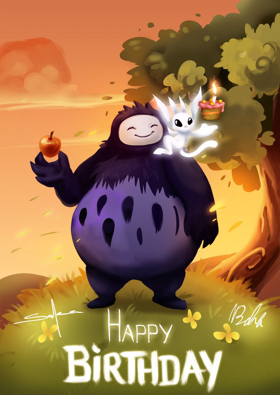 Ori fan birthday card by SuperKaninja on DeviantArt – Birthday Cards for the Blind