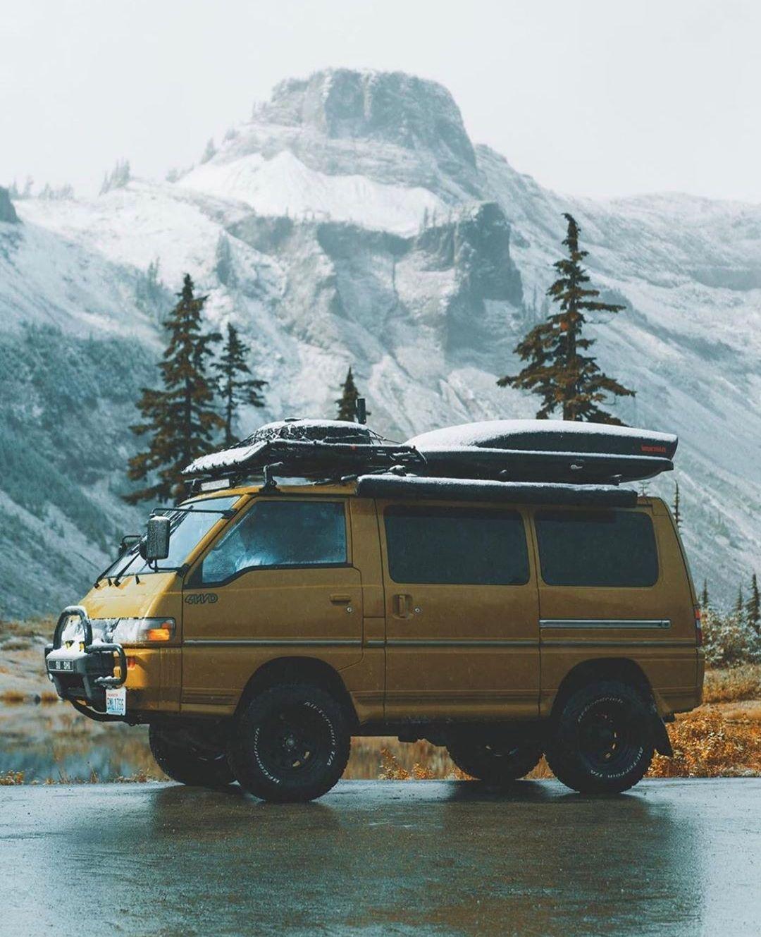 Pin by Howard Shegoi on Cool Camper Rigs Delica van, Van