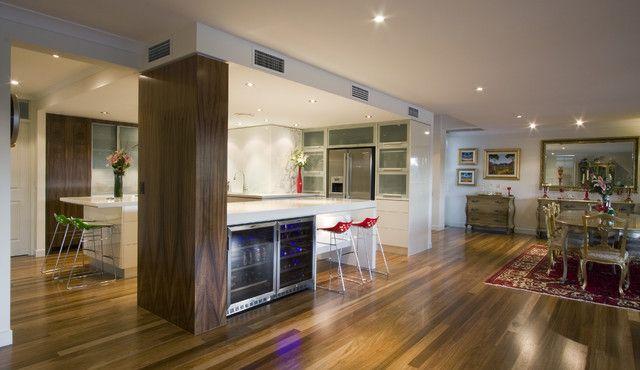 Kitchens With Columns interior design wood pillars - google search | עמוד סלון | pinterest