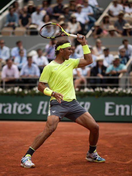 Rafael Nadal French Open 2019 Rafael Nadal Wallpaper Rafael Nadal Girlfriend Rafael Nadal Serve Tennis Outfit Babolat Te Tennis Photos Rafael Nadal Tennis