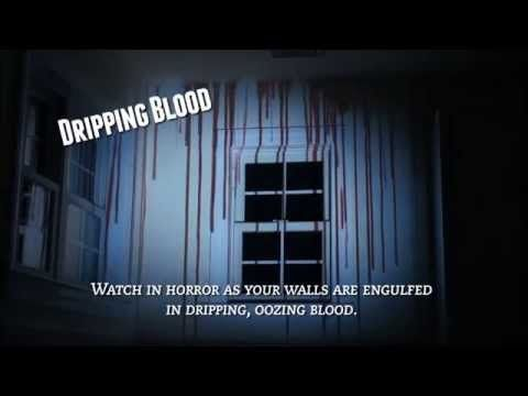 blood walls special effect halloween dvd hauntersdepotcom