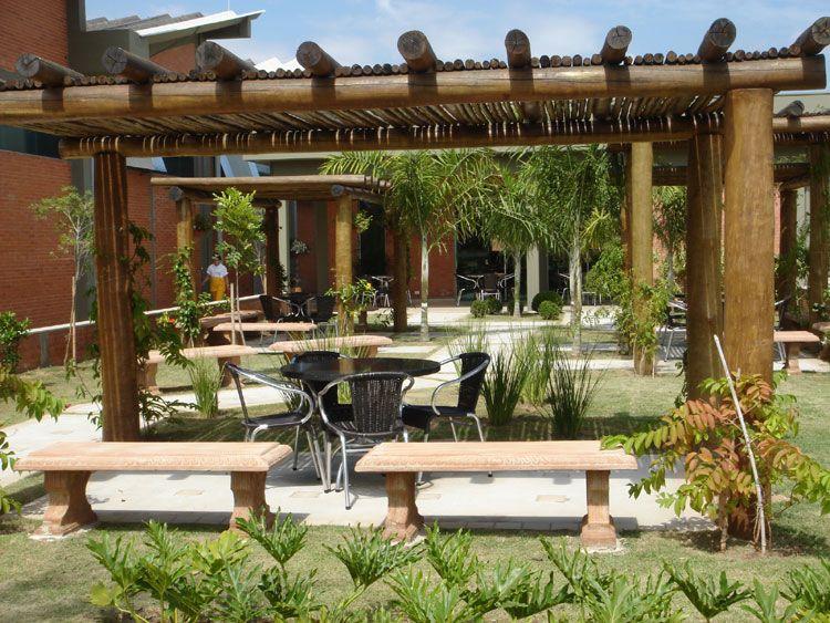 Eucalipto tratado em autoclave p rgula caramanch o for Autoclave tratado jardin cobertizo