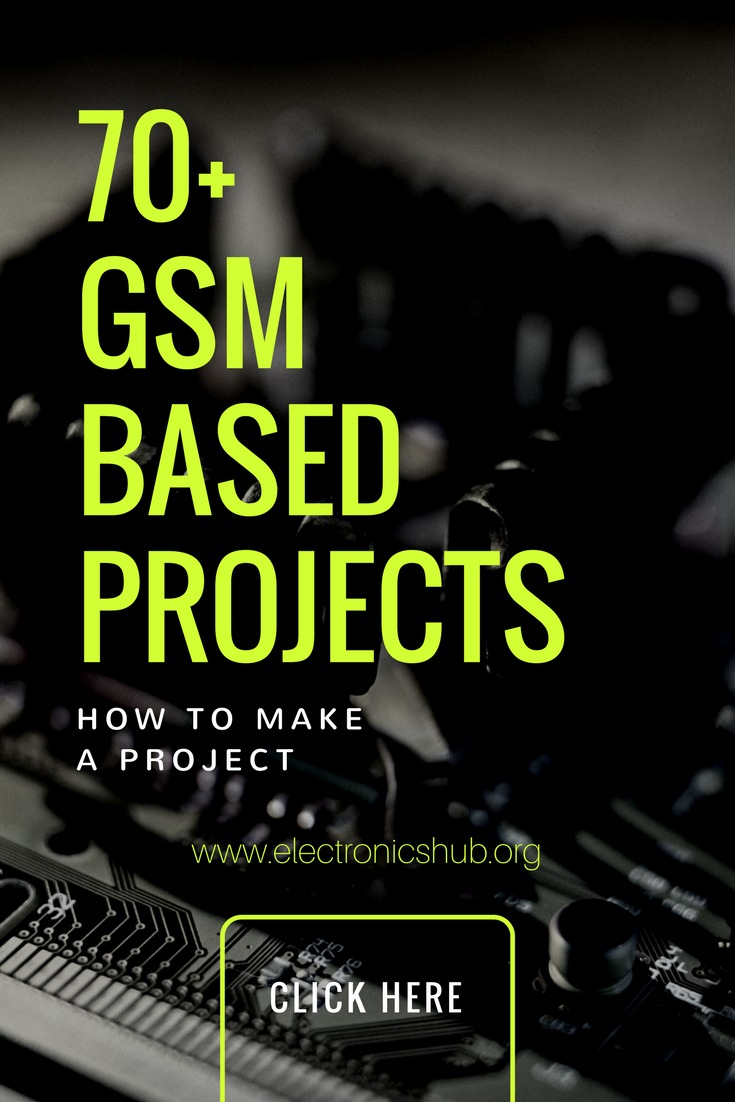 70+ GSM Based Projects for Engineering Students   Arduino, Tech and ...