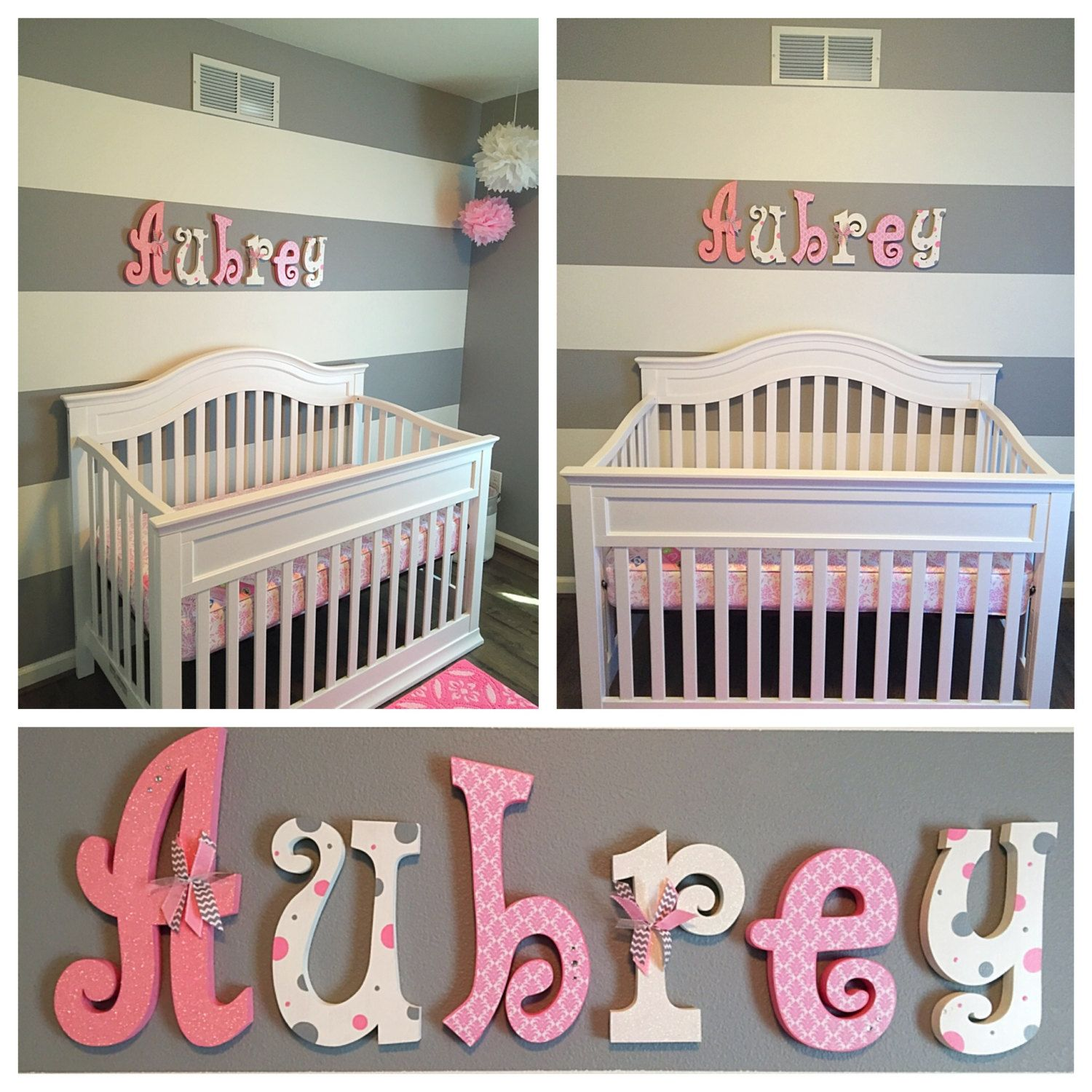These Letters Would Make A Great Addition To Any Nursery Childs Room This
