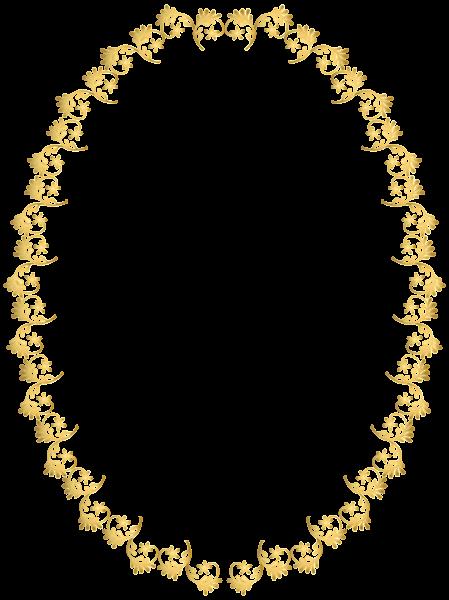 Oval Frame Transparent Clip Art Image Frame Border Design Clip Art Free Clip Art