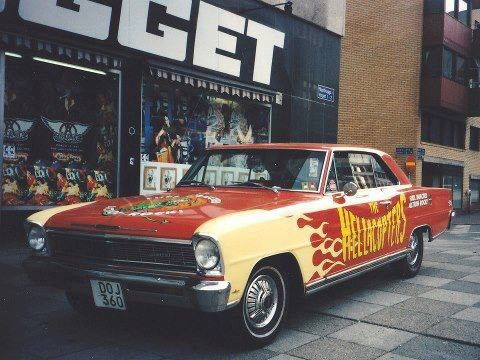 Hellacopters Car