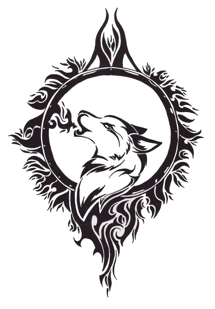 Wolf Tattoo Design By Angel Of Mist On Deviantart D V Tattoodonkey Tribal Wolf Tattoo Celtic Wolf Tattoo Wolf And Moon Tattoo