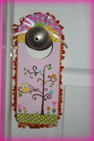 Diva Door Knob Hanger by theprettypaperlady on Etsy 1275 My