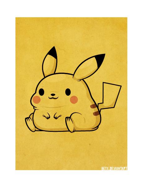 Pikachu by beyx.deviantart.com on @deviantART
