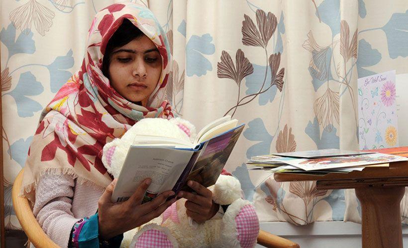 Sananvapauden ja tyttöjen sankari, pakistanilainen Malala Yousufzai.