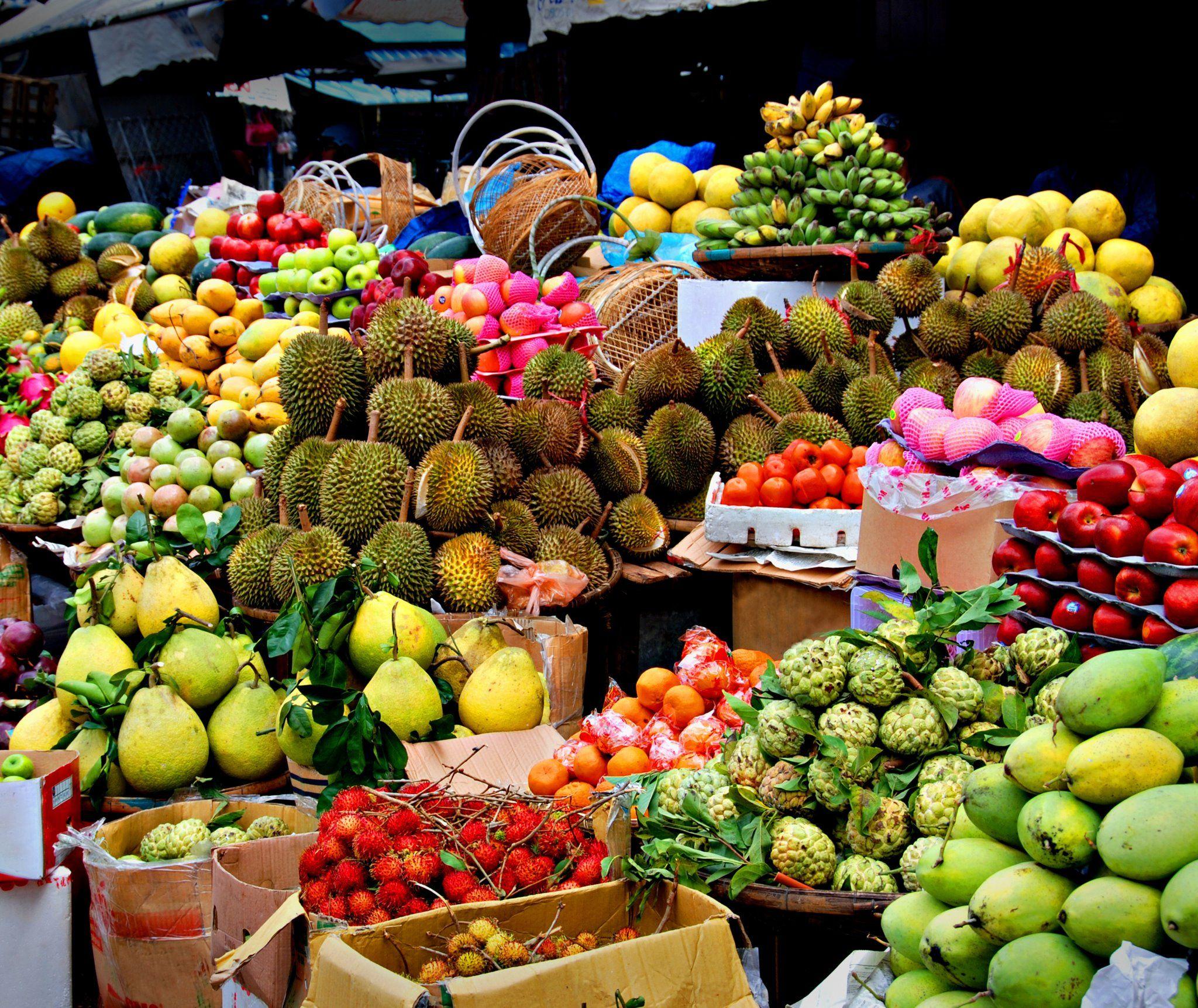 Markt in Thailand
