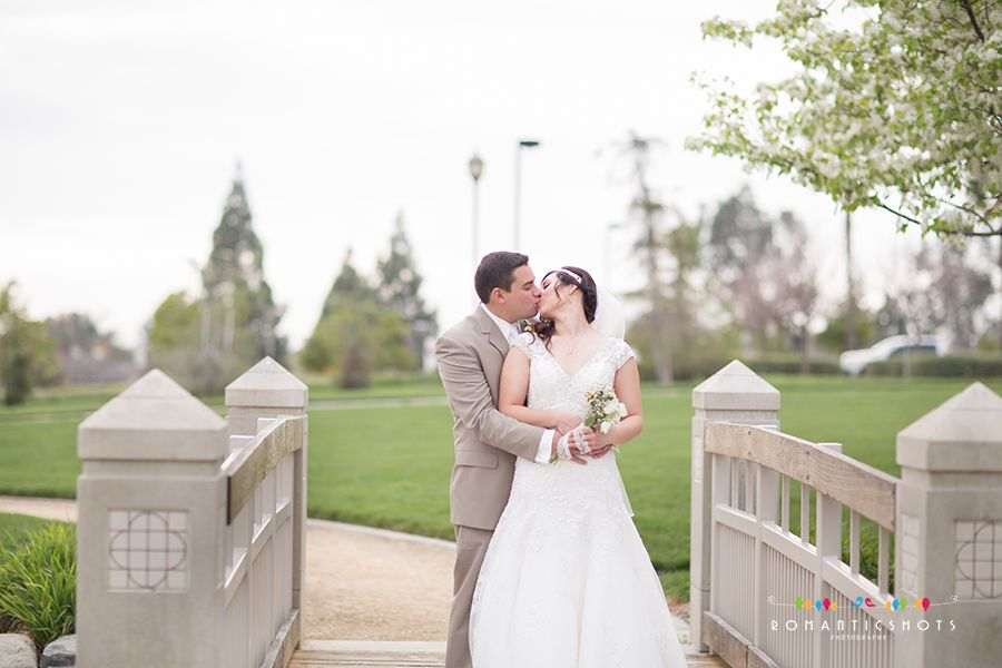 wedding at Rancho cucamonga central Park