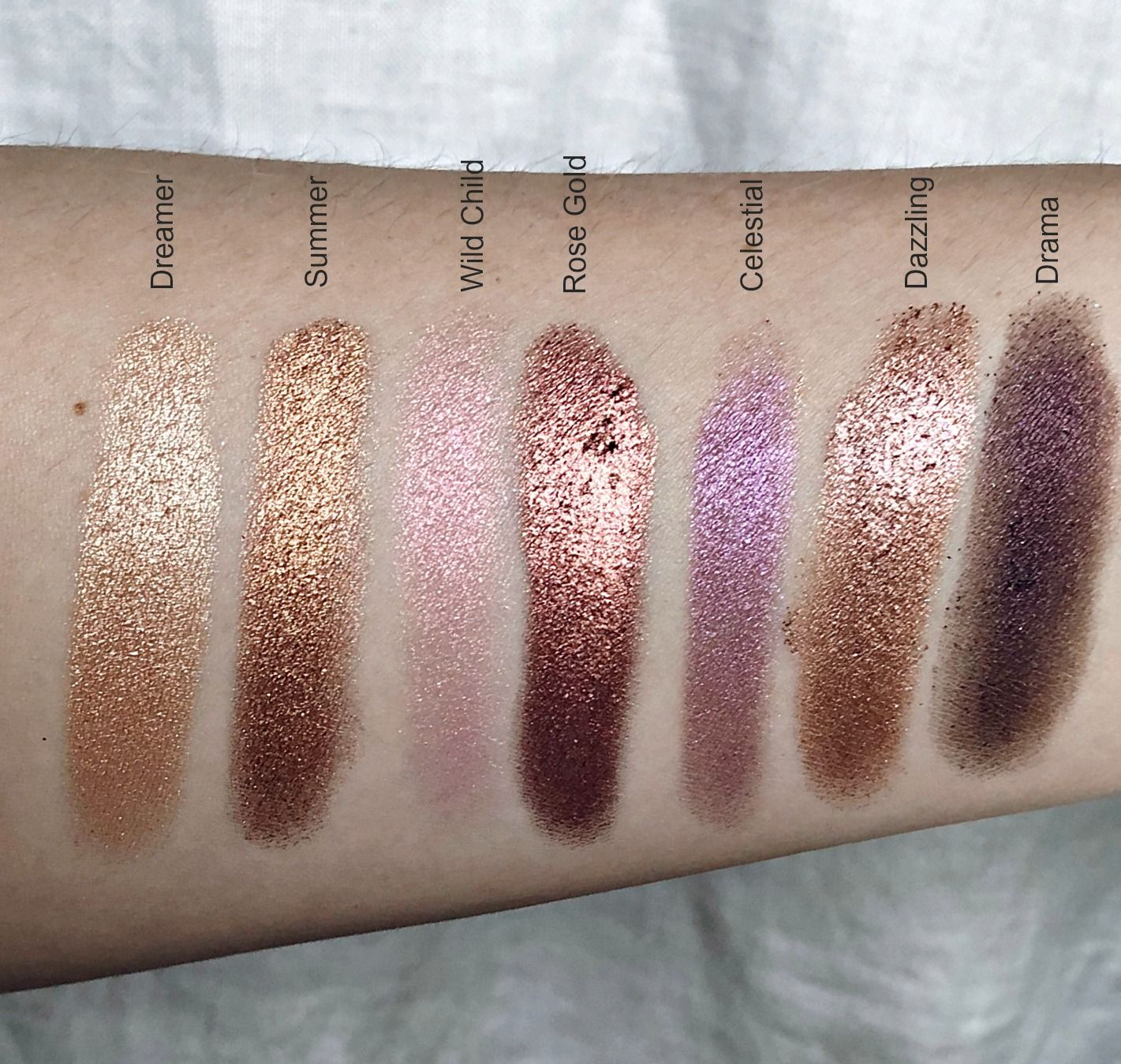 ABH Norvina Palette Review + Swatches Black hair makeup