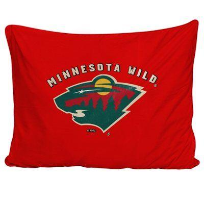 Minnesota Wild Pet Bed - Red/Tan