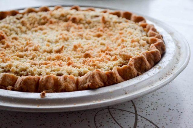 Crumb Topped Pumpkin Pie