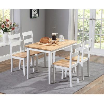 Chichester Dining Table And Chairs Wayfair UK Kitchen - Wayfair white table and chairs