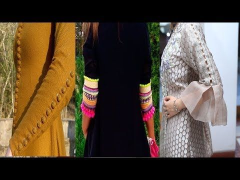 38871dc4d1 Top Designs For Sleeves  Beautiful Designs For Kurti Dress Sleeves  Sleeves  Designs - YouTube