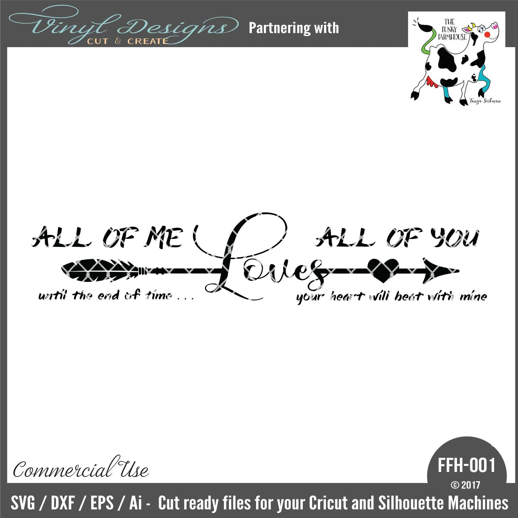 Download FFH001 All of Me Loves All of You. Sold By Funky ...