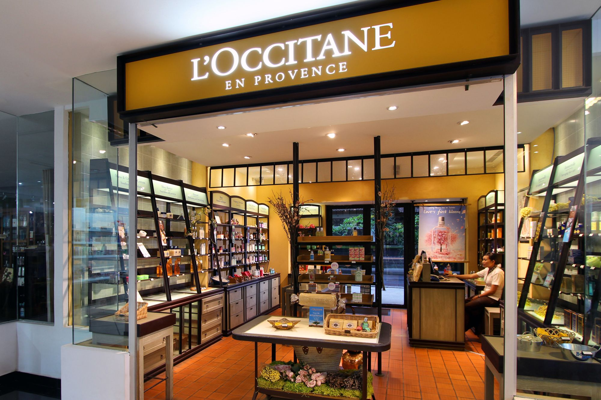 Loccitane Shop At The Next Door Of Bamboo Spa By Loccitane In