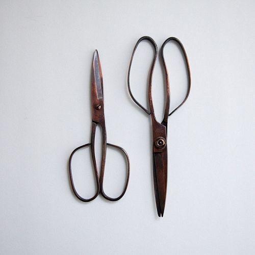copper scissors