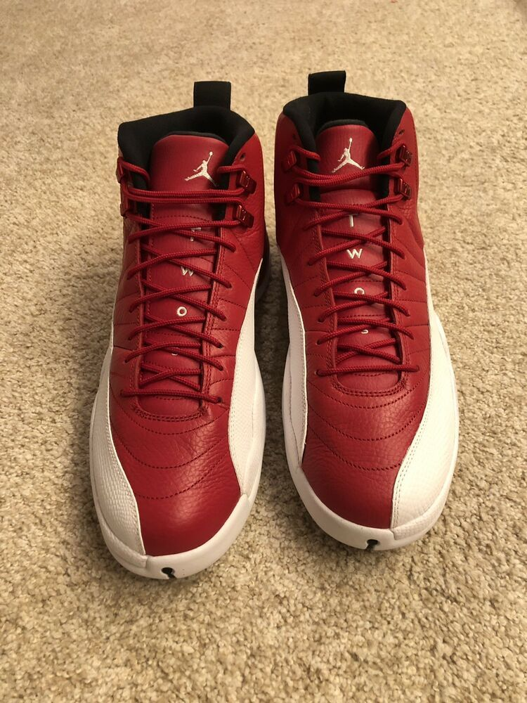 red and white jordan 12 outfit