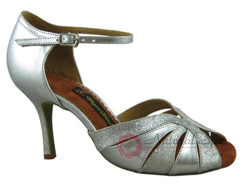 Natural Spin Tango Salsa Shoes/Tango Shoes/Fashion Shoes(Small Open Toe):  T1310