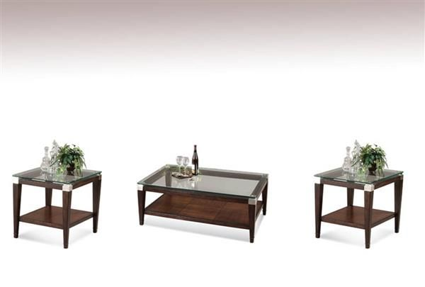Cappuccino Coffee Table Set.Dunhill Cappuccino Wood Glass Coffee Table Set Standard Bedroom