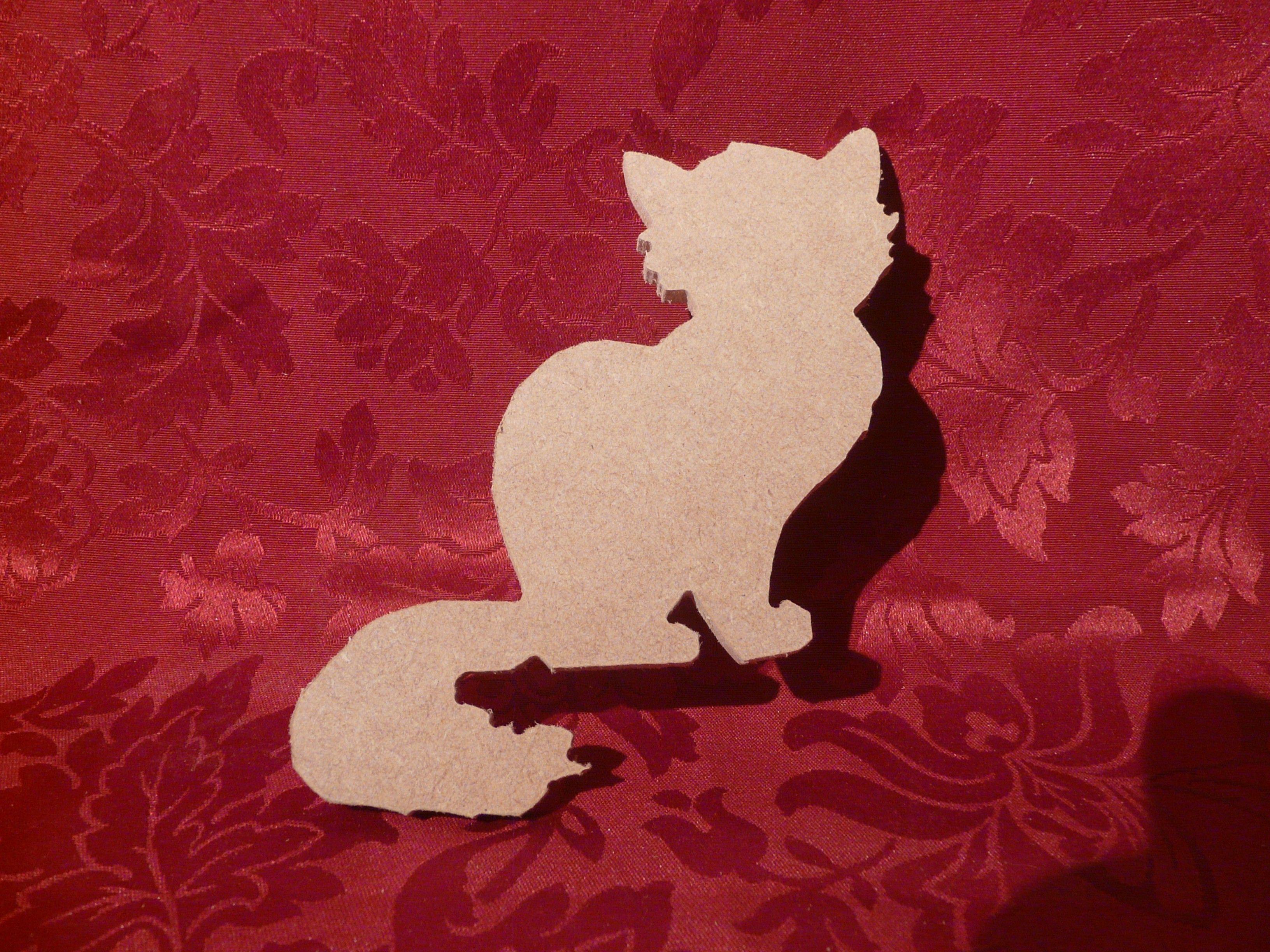kitten shape | Woodshapes