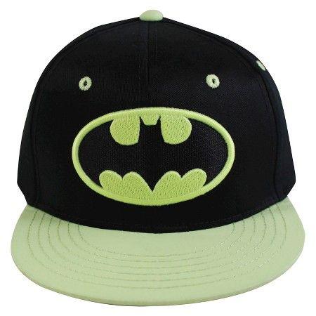 ce9e4e1e Boys' Batman Glow in the Dark Baseball Hat | Jacey boy | Baseball ...