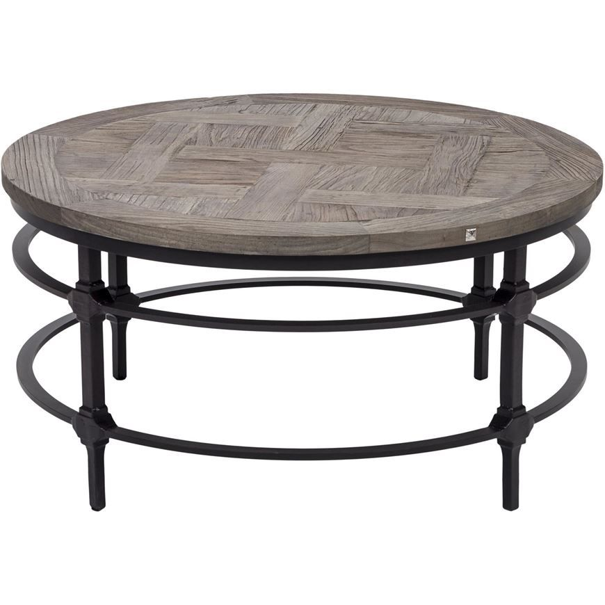 MARTE coffee table d91cm natural