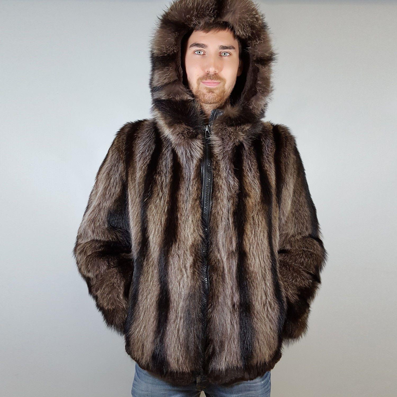 Jacke Raccoon For Waschbär Fur Bomber Saga Jacket Men Herren w8nOPkX0