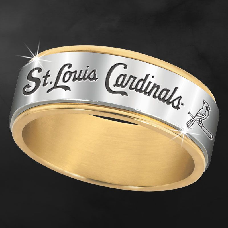 St Louis Cardinals Spinner Ring