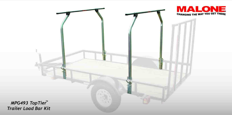 TopTier™ Utility Trailer Cross Bar System Utility