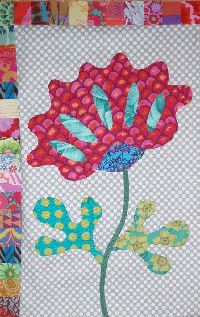 Kim Mc Lean Flower garden | Quilt | Pinterest | Blumen ...