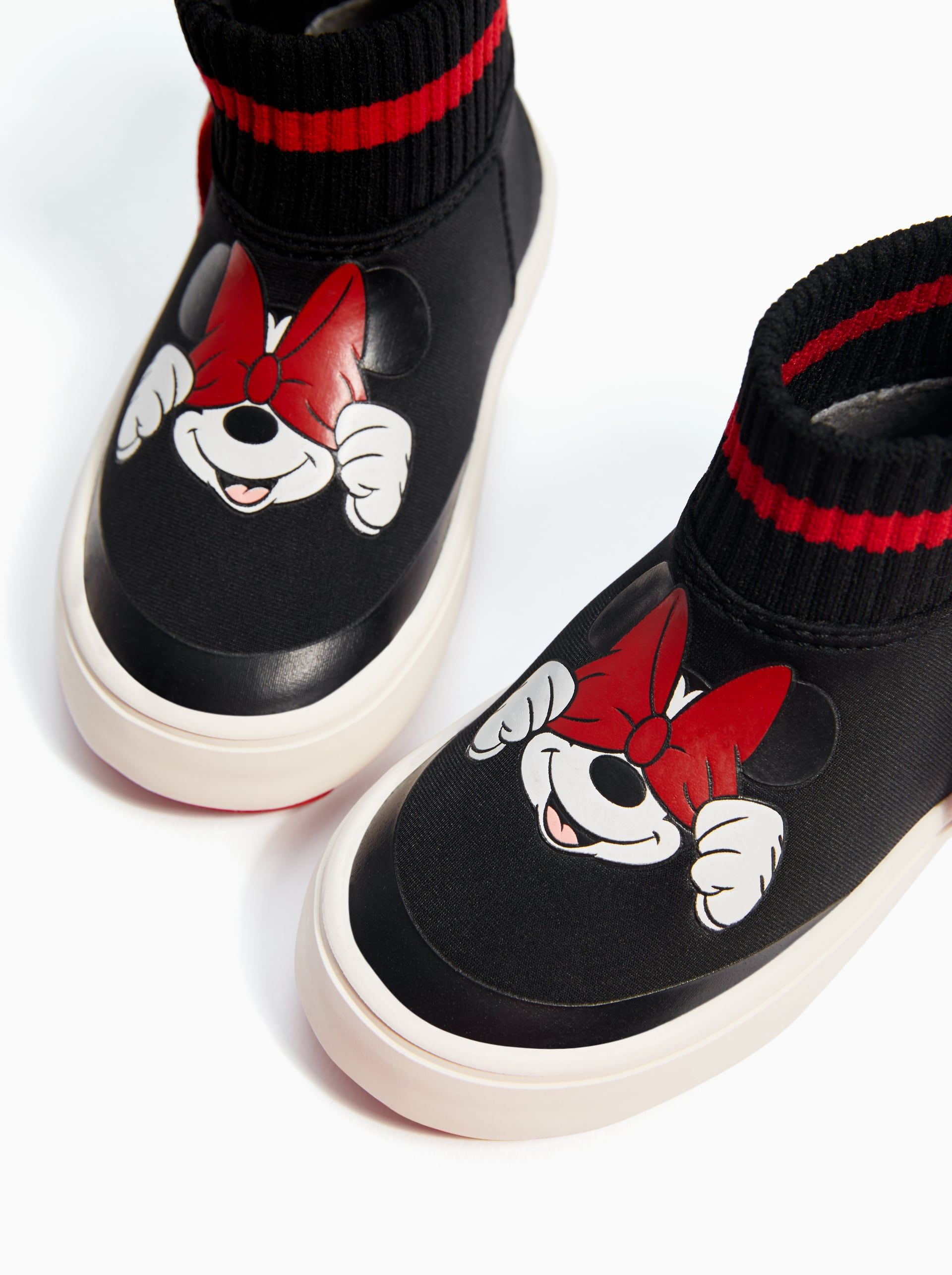 23e82a61fe Image 3 of ©DISNEY MINNIE HIGH TOPS from Zara