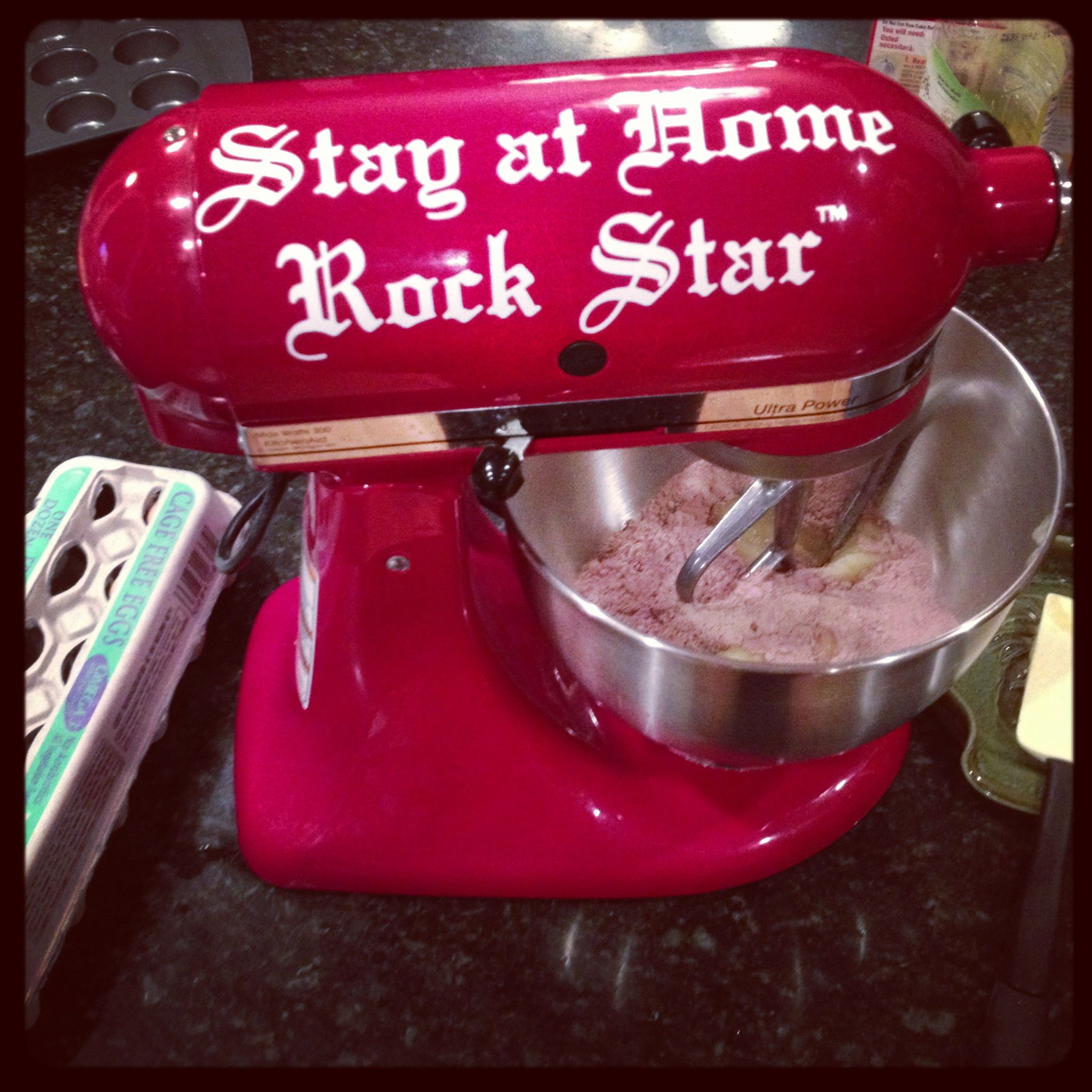 Blinged out kitchenaid bling your stuff rock star www