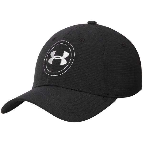 f636e9a26cc Men s Under Armour Black Texas Tech Red Raiders Jordan Speith Tour  Performance Flex Hat Size L