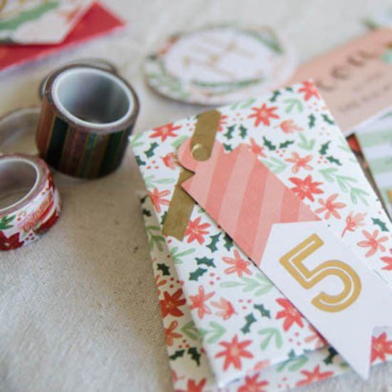 Make your own experience-oriented advent calendar using scrapbook
