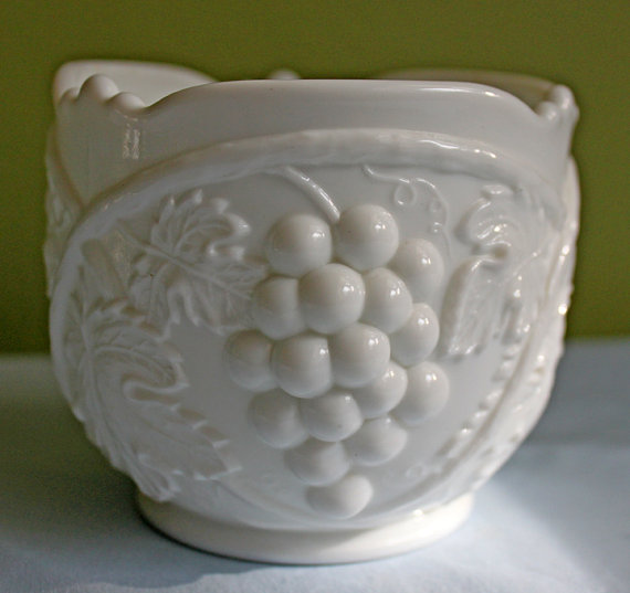 Westmoreland Milk Glass Small Bowl.  Bowl by AnythingDiscovered