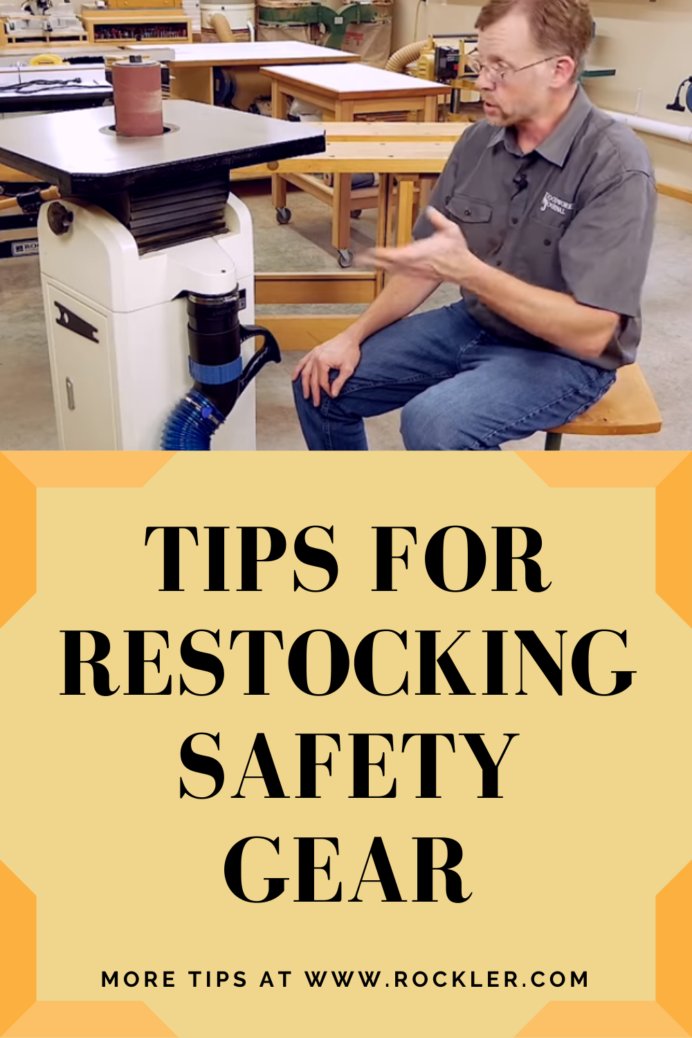 Tips for Restocking Safety Gear Rockler Wood working