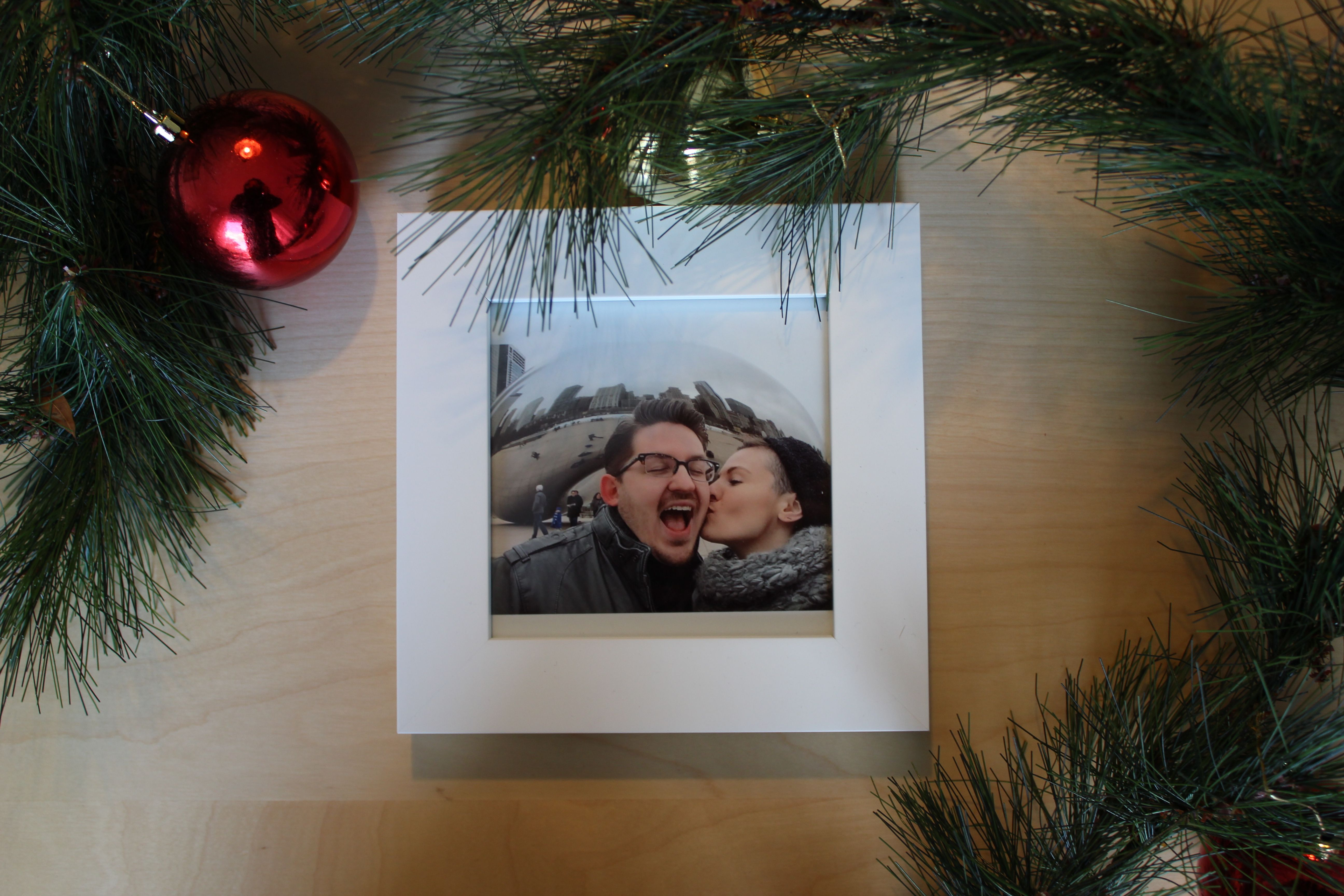 Custom Holiday Gifts with Framebridge