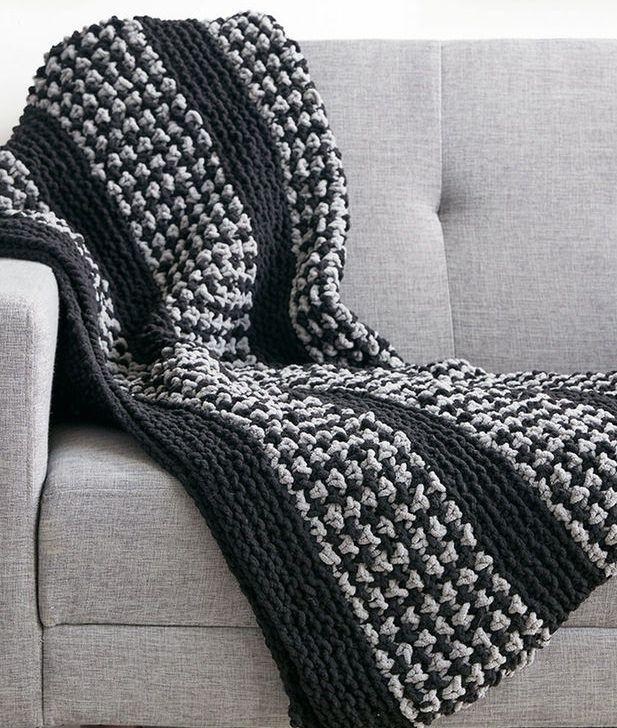 Quick Afghan Knitting Pattterns Super Bulky Yarn Knit Patterns