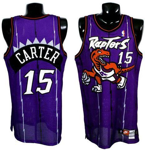 50562fcc9 Toronto Raptors Vince Carter  15 Throwback Jersey