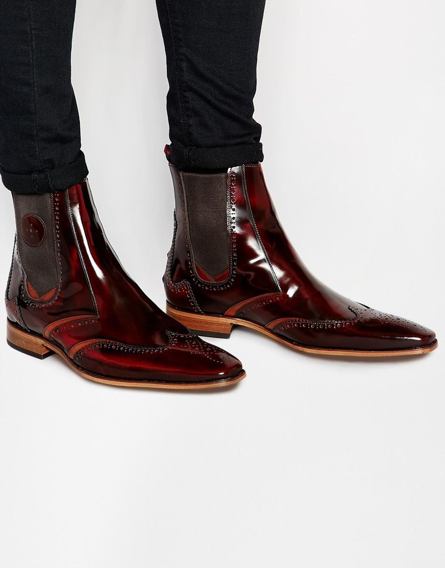 Buy Men Shoes / Jeffery West Leather Chelsea Boots